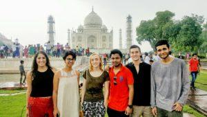 The crew at Taj
